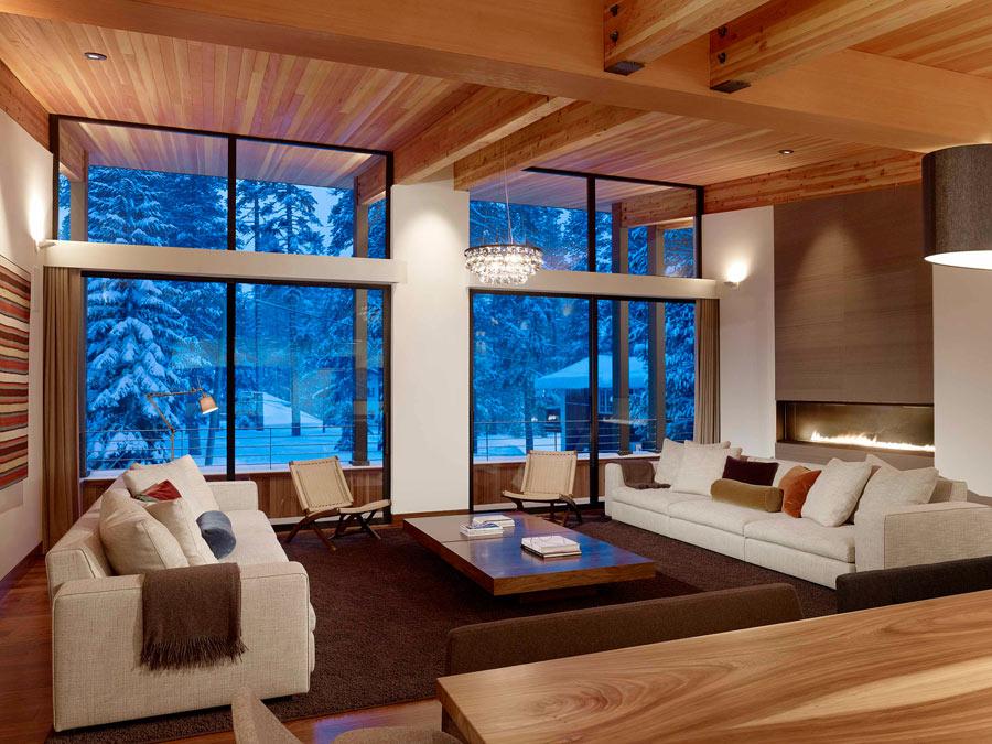 Дизайн большой гостиной фото