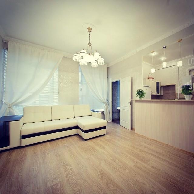 1-1 Дизайн интерьера трехкомнатной квартиры