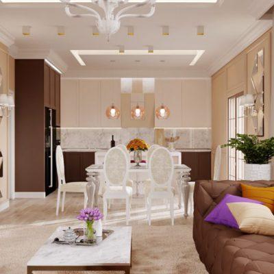 1-min-400x400 Дизайн 1-го этажа дома 400 м2